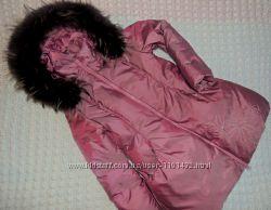 Зимняя пуховая куртка OHara 7-8лет128см для девочки