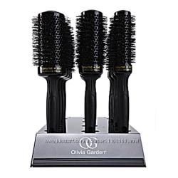 Термобрашенги Olivia Garden Ceramicion Thermal Brush черные