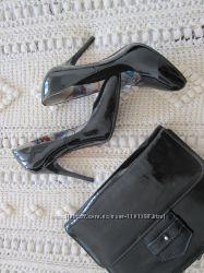 Туфли-лодочки лаковые