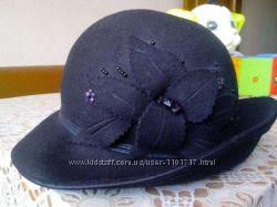 Шляпа кашемировая