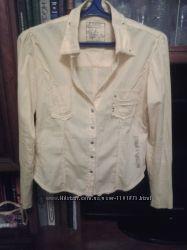 Фирменная рубашка Junker стильная коттон