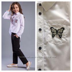 Школьная блуза Brilliant на девочку Рост 122- 170 Супер качество Три модели 44df7f375f923