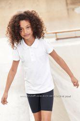 Next Хлопковая футболка- поло на мальчика, девочку 6- 12 лет Некст