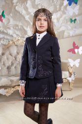 Школьная форма на девочку-жакет, жилет Suzie Brilliant S. Shelest Рры 116-1