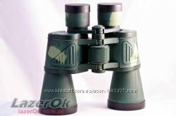 Бинокль Bresser 28х50 черный, зеленый