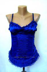 Очень красивый корсет синего цвета от  Silvian Heach
