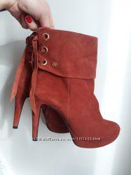 Замшевые ботинки 36 размер