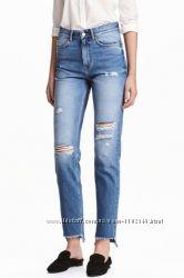 Стильные boyfriend jeans джинсы от h&m