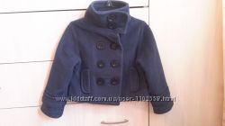 Флисовое пальто-пиджак Next для девочки 3 года