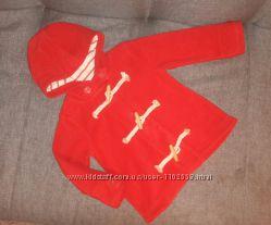 Флисовое пальтишко Next для девочки 3-4 года.
