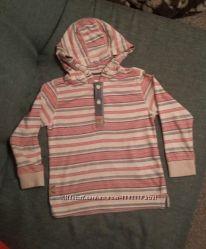 Хлопковая кофточка с капюшоном Next для мальчика 4-5 лет