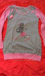 пижама серая николетта туника и лосины