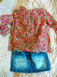 Очень модная джинсовая юбка