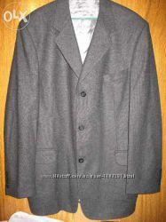 Пиджак чёрный, р56 Bertoni, серый, коричн р54, Hugo Boss, Angelo Litrico Armani.