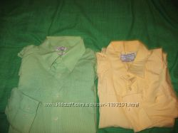 Рубашки р. 58-60, 62по вороту 52и48см чёрная, кроме жёлтой.