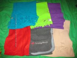 Шарфы и шали, бирюзовая, коричневые, розовые и др цвета