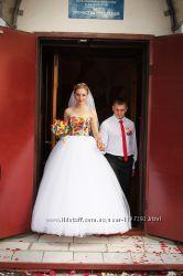 Свадебное платье в украинском стиле
