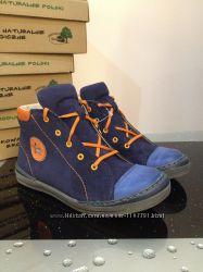 Польские кожаные ботинки Renbut 34 размер