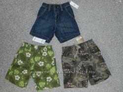 3 пары новых шорт OLD NAVY, Crazy8, Gymboree 2-3Т