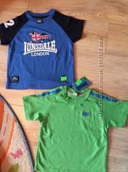 Новая футболка LONSDALE размер 2-3 года