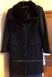 Пальто Зимнее с МЕХовым воротом