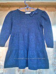 Платье с длинным рукавом H&M  для девочки 1 - 1, 5  92
