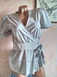 Стильная блузка с запахом наш р-р 42 - 44 H&M