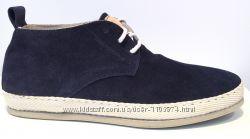 Замшевые очень легкие ботинки Gino Tagli. Размер 43