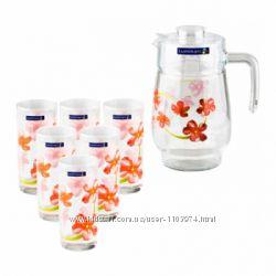 Стеклянные наборы для напитков Luminarc