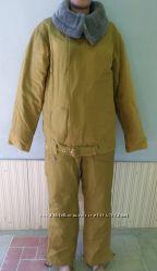 Танковый зимний комплект Куртка и штаны СССР Верх на куртке и штанах сьёмны
