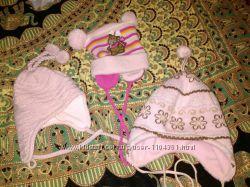 Продам  недорого  детские шапочки  от  рождения и старше, на осень, зиму, в