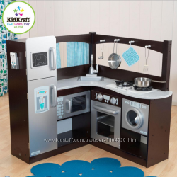 Угловая кухня KidKraft Espresso Grand Gourmet Kitchen 53302
