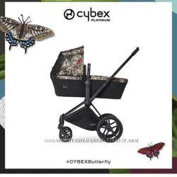 Универсальная коляска 2 в 1 Cybex Priam Platinum Lux Butterfly