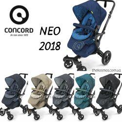Детская прогулочная коляска Concord Neo 2018
