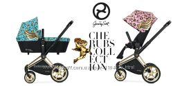 Универсальная коляска 2в1 Cybex Priam Cherubs by Jeremy Scott 2018