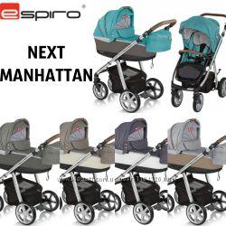 Универсальная коляска 2 в 1 Espiro Next Manhattan 2019