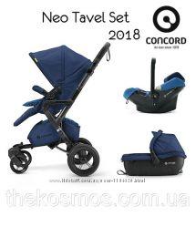 Универсальная коляска 3в1 Concord Neo Travel Set 2018