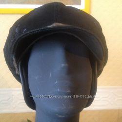 Тренд 20152016- шлемы и шляпки наездницкожанная шапка с козырьком и норко