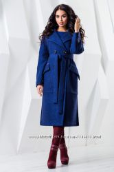Женственное Пальто Деми с Поясом Новинка