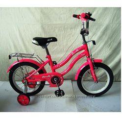 Велосипед Профи Стар 14-20 дюйм Profi Star двухколесный детский для девочки