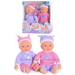 Куклы-пупсы Близняшки Беби, 5370, говорят по 25 фраз, Baby
