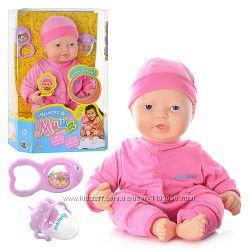Кукла-пупс Беби Малютка Миша 5243, 7 реалистичных функций, Baby