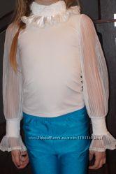 Блузка для первоклассницы