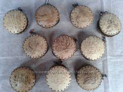 Кошелёк-сумочка из кокоса