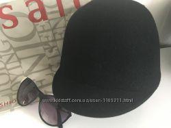 Остромодная стильная фетровая кепи  жокейка, бренд  Monton, Новая