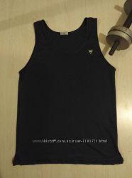 Спортивная мужская майка футболка темно-синяя Viga