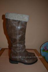 Сапоги кожаные 37 размер