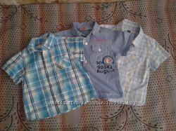 Летние рубашки, 80 - 86р.