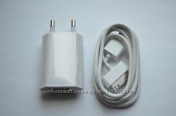 Сетевое зарядное USB кабель для iPhone 2 3 3G 4s 4