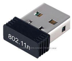 Сетевой адаптер USB WiFi 802. 11n 150Mbit